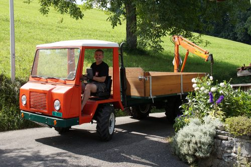 Werkstatt-Fahrzeug